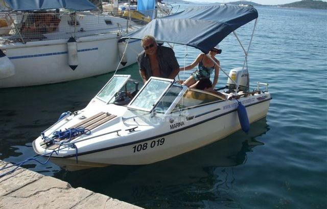 sport.člun Hellwig s mot.Honda