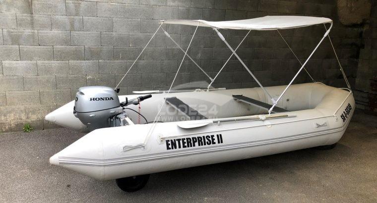 Nafukovací čln s Honda 20HP