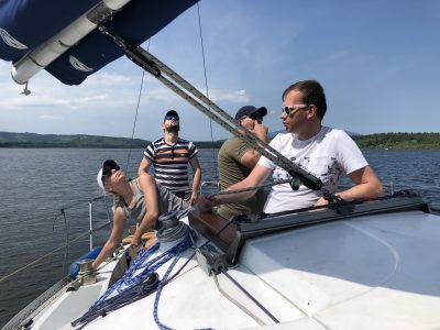 Potrebné osvedčenie na vnútrozemskú plavbu.