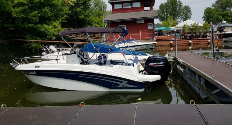 Motorový čln + Mercury
