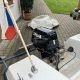 HELLWIG člun, motor SELVA 15HP